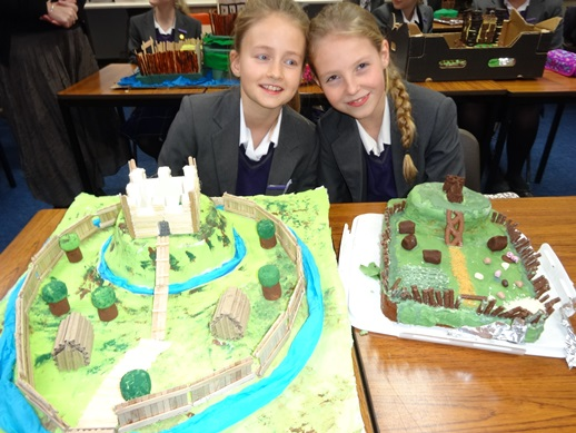 How To Make A Motte And Bailey Castle Cake